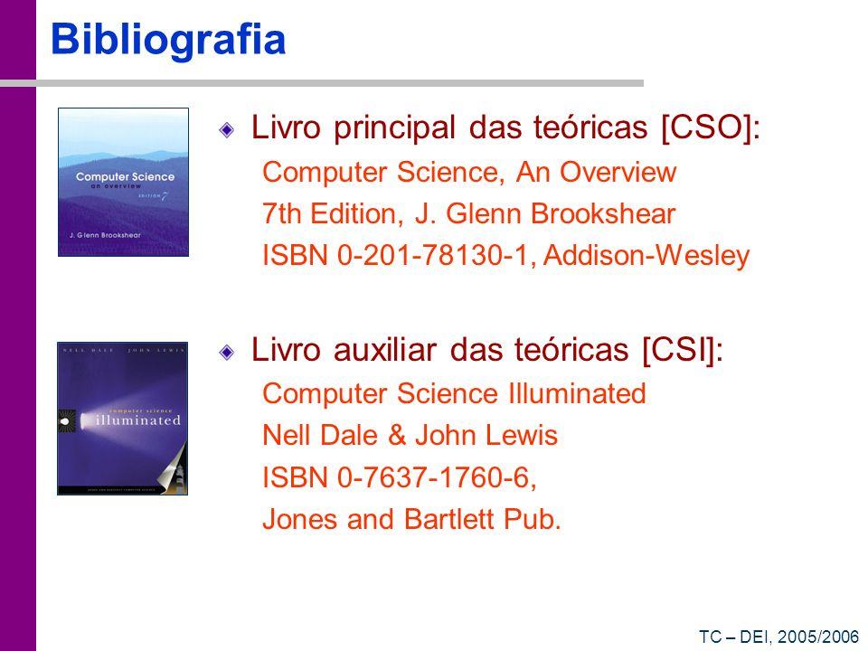 Bibliografia Livro principal das teóricas [CSO]: